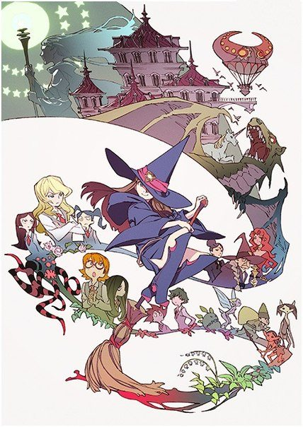 Little Witch Academia Sub Indo Lengkap