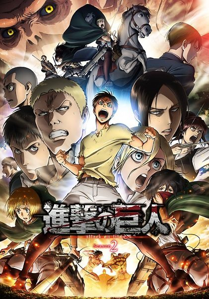 Shingeki no Kyojin Season 2 Sub Indo Batch Eps 1-12 Lengkap
