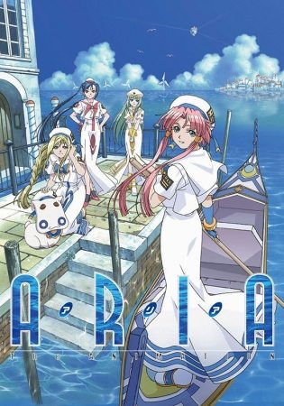 Aria The Animation BD Sub Indo Batch Eps 1-13 Lengkap