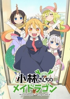 Kobayashi-san Chi no Maid Dragon BD Sub Indo Batch Eps 1-13 + OVA Lengkap